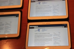 e-Participation day in Germany: tablets to test the tools ready for participants